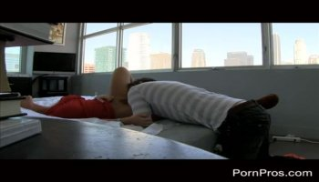 Facefucked Bound Teen Chokes and Sputters