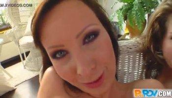 Latina TS Bruna Angel Bareback