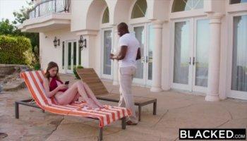 Skinny brunette Tania Pink demonstrates her flexible pink twat