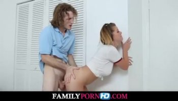 Teen chick gets her wicked wet crack plowed hard